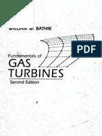 Fundamentals of Gas Turbines (William W.bathie, 2e, 1996) - Book