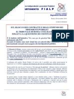 comunicato 17 2013 il blocco del ccnl alla cortecostituzionale