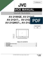 Jvc Av-2100qe (Chassis Cq)