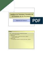 Tema 08 - Análisis de Sistemas Lineales en el Dominio de la Frecuencia