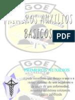 BASICOS PRIMEROS AUXILIOS