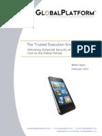 GlobalPlatform TEE White Paper Feb2011