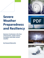 Severe Weather Preparedness and Resiliency