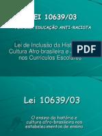 Lei Afro e Indigena