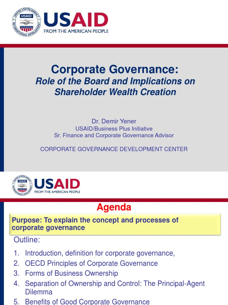 corporate governance | corporate governance | governance