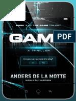 An Excerpt from GAME by Anders de La Motte