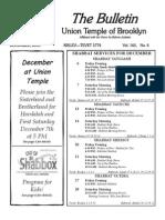UT Bulletin December 2013