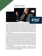 Ralph McInerny - On Being a Catholic Writer