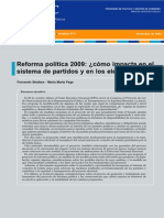 004. Reforma política 2009
