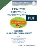 Proyecto Estrategia Precio