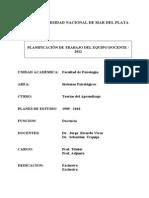 PETD Teorías del Aprendizaje 2012 con anexo CRESTA