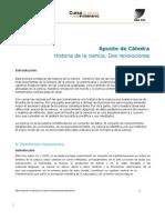 Apunte de Cátedra Historia de la Ciencia - Unidad 1 IPC CI