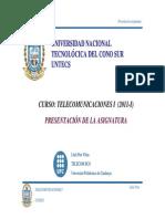 Sistemas analógicos de comunicación  1