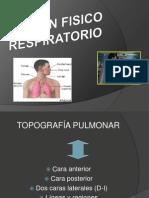 Examen Fisico Del Aparato Respiratorio