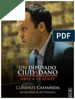 1er Informe de Actividades Diputado Ciudadano Clemente Castañeda