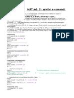 2. Matlab - Grafici e Comandi Avanzati