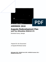 Augusta TAD 1 2013 Amendment