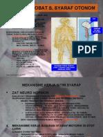 Pel.obat Susunan Syaraf Otonom