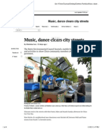 preview of music dance clears city streets  the orion
