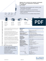 DS2702 Standard Datasheet Electrovalvula
