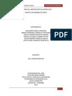 INFORME DE LABORATORIO DE HIDRÁULICA (Bombas en Serie y Paralelo)