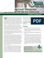 Undermining Local Democracy