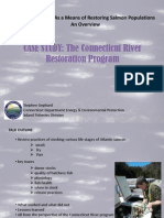 Steve Gephard (Inland Fisheries Division, Dept. of Energy and Environmental Protection, State of Connecticut)Overview