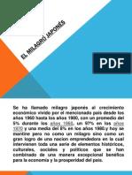 EL MILAGRO JAPONÉS (1)