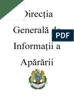 Direcția Generală de Informații a Apărării - DGIA (2)