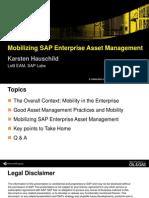 Mobilizing SAP Enterprise Asset Management