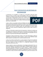 ASPECTOS ÉTICOS Y SOCIALES DE LOS SISTEMAS DE INFORMACION