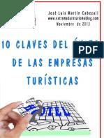 10 Claves Del Exito de Las Empresas Turisticas El Libro