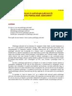 Introducere in Psihologie Judiciara
