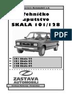 Zastava Skala-Tehnicko Uputstvo