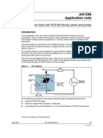 Ring Wave Tests With ACS108 Driving Valves and Pumps-CD00004276