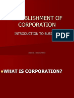 ESTABLISHMENT OF CORPORATION.ppt