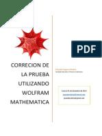 Matematica Correccion de La Prueba