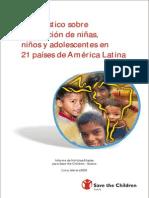 SAVE THE CHILDREN - Diagnóstico niñez y adolescencia
