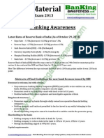 General Awareness Study Material for IBPS Clerk Exam Www.bankingawareness.com