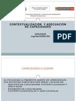 Diversificación (contextualizar y adecuar capacidades)  DCN AG 28-05-11