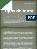 Tipos de Texto