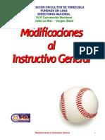 Modificaciones 2010 Criollitos