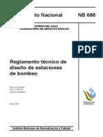 Reglamento de Diseno de Estaciones de Bombeo
