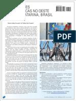 Observações ornitológicas no oeste de Santa Catarina - parte II