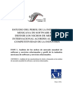 Software - Estudio en Diversos Mercados MX