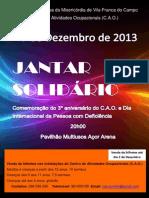 Evento CAO 2013