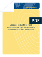 #Caracol Industrial Park Social and Gender Impacts of Year One of #Haiti's newest IFI-funded Industrial Park