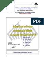 Aplicacion Tecnicas Ingenieria Metodos Reciclajes Caroni CA