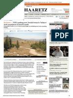 WZO pushing new Jewish towns to 'balance' Arab population in Israel's north / Zafrir Rinat
