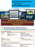 Kesiapan Kabupaten Gowa untuk Menjadi Kawasan Ekonomi Khusus